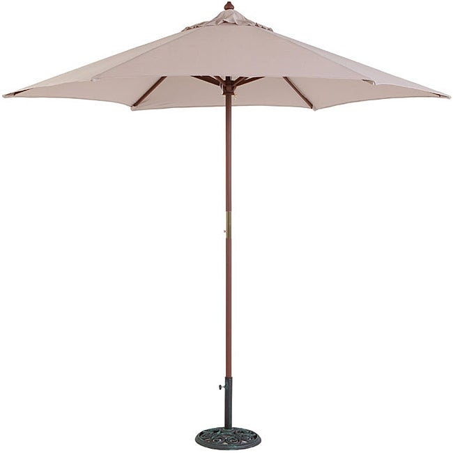 TropiShade 9-foot Beige Umbrella Shade
