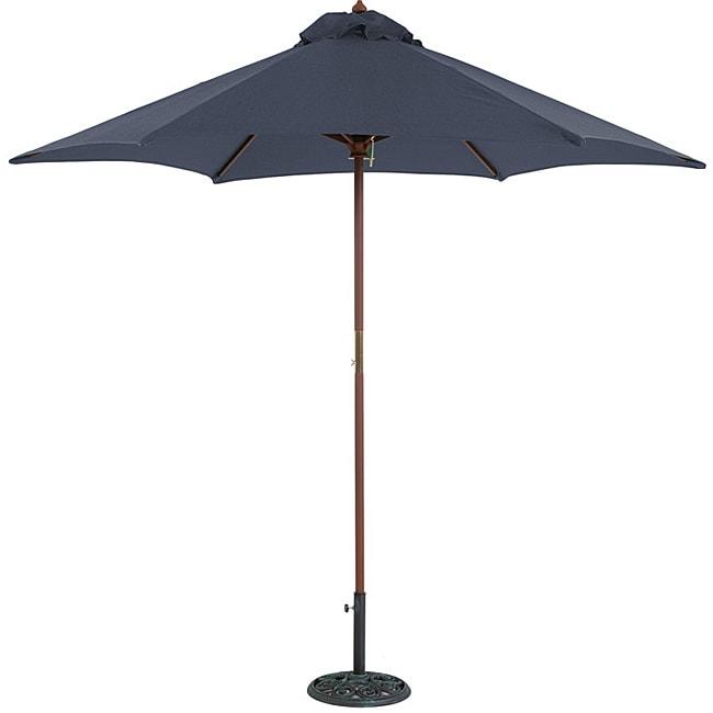 TropiShade 9-foot Blue Umbrella Shade