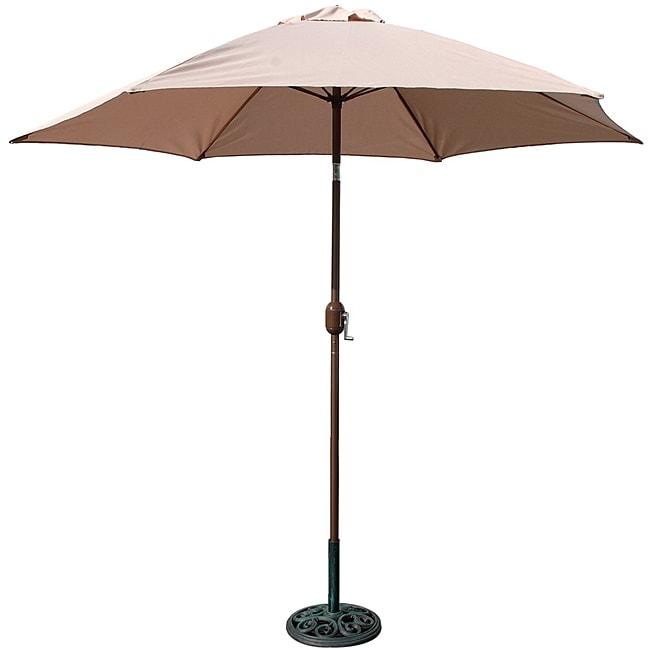 TropiShade 9-foot High Natural Umbrella Shade