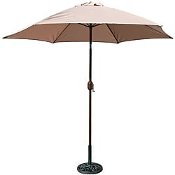 TropiShade 9-foot High Natural Umbrella Shade