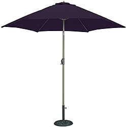 TropiShade 9-foot Navy Aluminum Bronze Market Umbrella