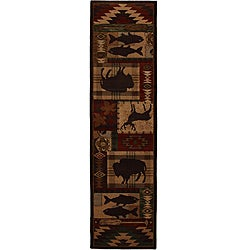 Wyoming Rust Rug (2'1 x 7'10)