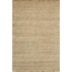"""Loft Studio Wheat Hand-Loomed Wool Rug (3'6"""" x 5'6"""")"""