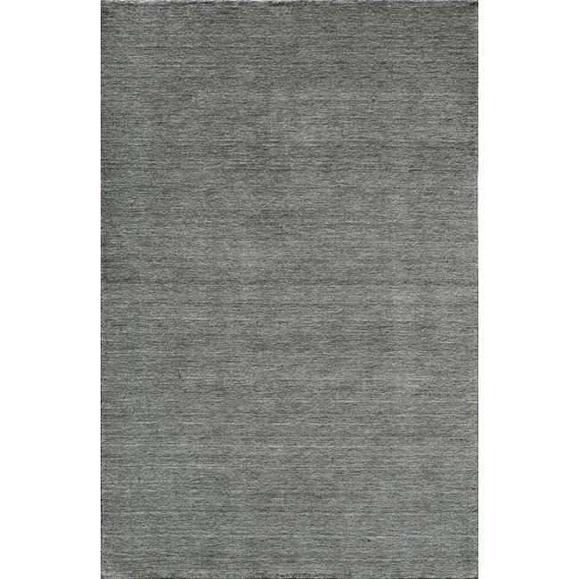 Loft Studio Blue Lagoon Hand-Loomed Wool Rug (8' x 11')