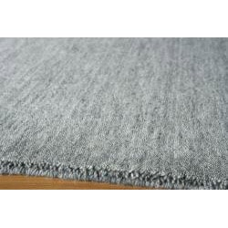 Hand-loomed Loft Gabbeh Grey Wool Rug (8' x 11')