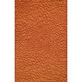 Hand-loomed Loft Stones Orange Wool Rug (7'6 x 9'6)
