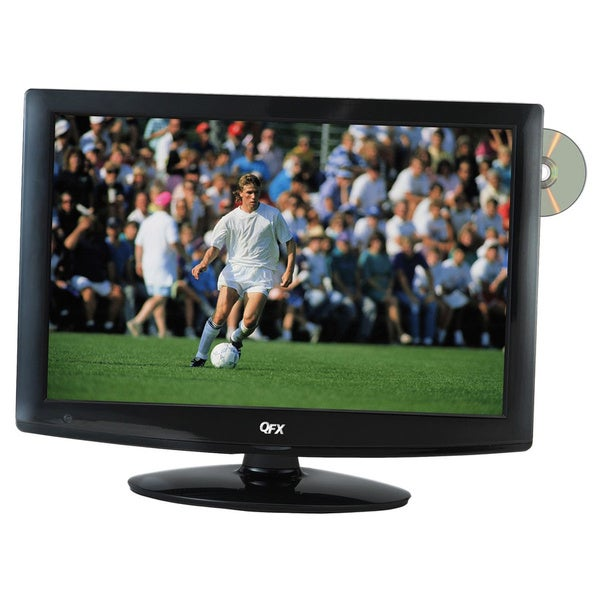 QuantumFX TV-LED1912D 19-inch AC/DC 12 Volt LED TV/ DVD Player 1080p