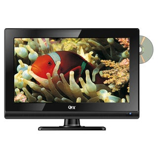 QuantumFX TV-LED1612D 15.6-inch AC/DC 12 Volt LED TV/ DVD Player 1080p