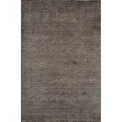 Hand-loomed Loft Gabbeh Charcoal Wool Rug (9'6 x 13'6)