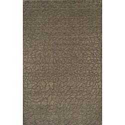 Hand-loomed Loft Stones Sage Wool Rug (9'6 x 13'6)