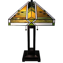 Warehouse of Tiffany Mission 24-inch Linear Table Lamp