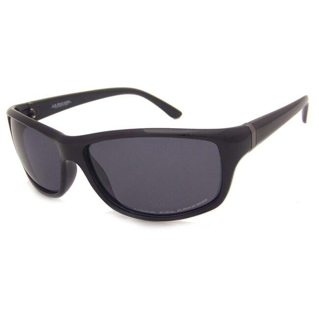 US Polo Association Men's Black Sport Sunglasses