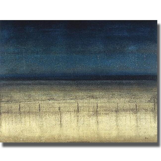 Randy Hibberd 'Blue Dream' Canvas Art