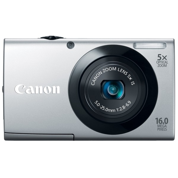 Canon Powershot A3400IS 16MP Silver Digital Camera
