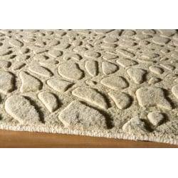 Hand-loomed Loft Stone Beige Wool Rug (9'6 x 13'6)