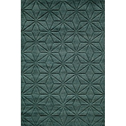 Loft Blue Dimensions Hand-Loomed Wool Rug (8' x 11')