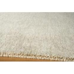 Hand-loomed Loft Gabbeh Wheat Wool Rug (9'6 x 13'6)