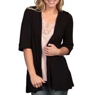24/7 Comfort Apparel Women's Open Shrug