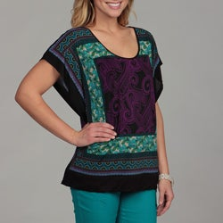 24/7 Comfort Apparel Women's Poncho Top