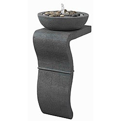 Mazu 31-inch High Indoor Floor Fountain