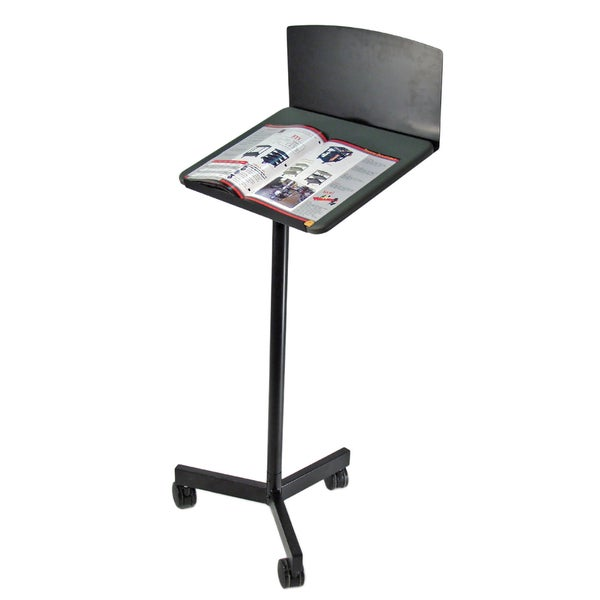 Luxor Mobile Lecturn with Privacy Panel