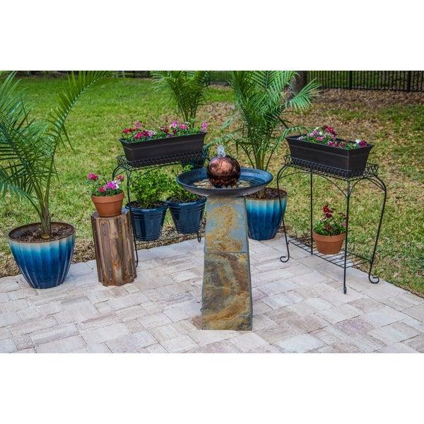 Copper Orb Fountain - Indoor/Outdoor