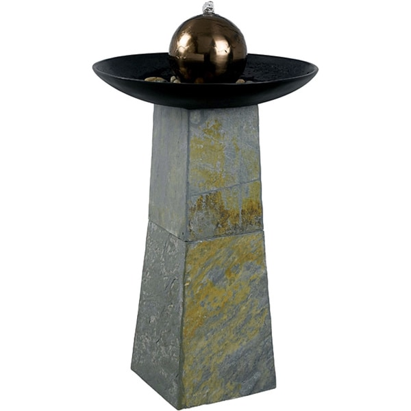 Copper Orb Fountain - Indoor/Outdoor