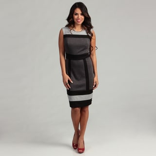 Connected Apparel Women's Heather Grey Dress