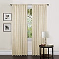 Lush Decor Beige 84-inch Thermal Zebra Curtain Panel