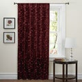 Lush Decor Red 84-inch Lilian Curtain Panel