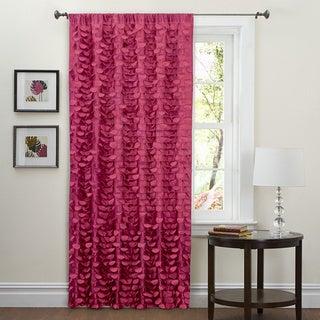 Lush Decor Pink 84-inch Lilian Curtain Panel