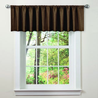 Lush Decor Brown Luis Valance