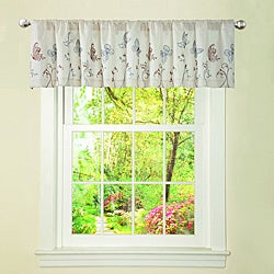 Lush Decor Beige/ Taupe Butterfly Dreams Valance
