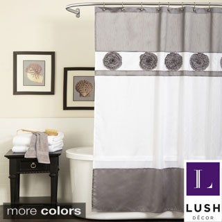 Lush Decor Seascape Shower Curtain