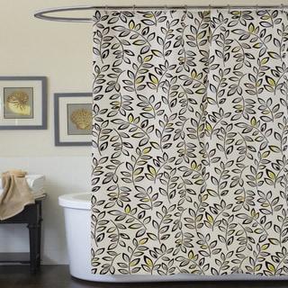 Lush Decor Ventura Blue Shower Curtain
