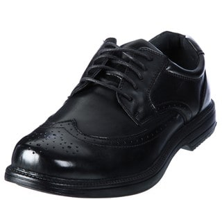 Deer Stags Men's 'Essex' Black Classic Wingtip Oxfords