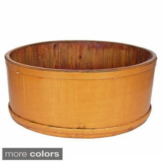 Decorative Wood Fortune Bowl