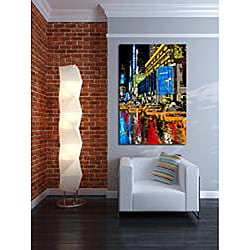 Maxwell Dickson 'Rainy Nights' Modern Wall Art