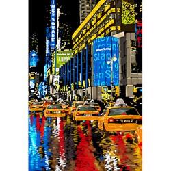 Maxwell Dickson 'Rainy Nights' Modern Wall Art