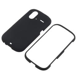 Black Case/ Screen Protector/ Car Charger for HTC Amaze 4G