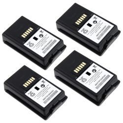 Microsoft xBox 360 Black Replacement Battery (Pack of 4)