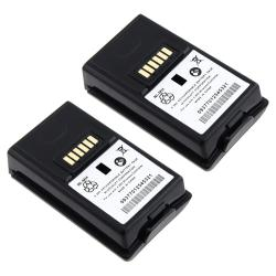 Microsoft xBox 360 Black Replacement Battery (Pack of 2)
