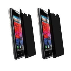 Privacy Filter Screen Protector for Motorola Droid RAZR XT910 (Pack of 2)