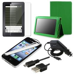 Case/ Screen Protector/ Stylus/ Charger/ Cable for Amazon Kindle Fire