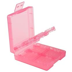 Light Coral 16-in-1 Game Card Case for Nintendo DS Lite