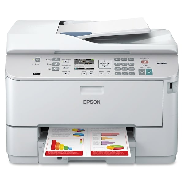 Epson WorkForce Pro WP-4520 Inkjet Multifunction Printer - Color - Pl