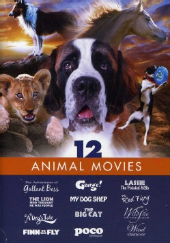 FAMILY FILM 12 PACK-ANIMAL MOVIES