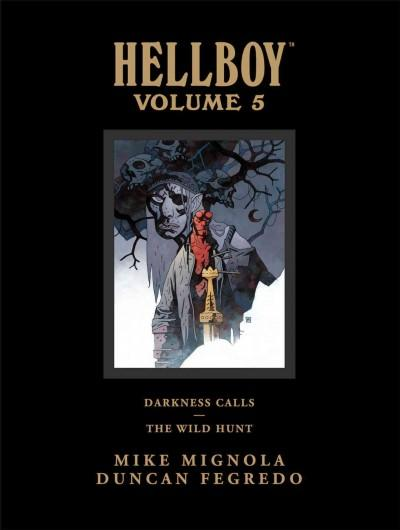 Hellboy Library Edition Vol. 5: Darkness Calls and The Wild Hunt (Hardcover)