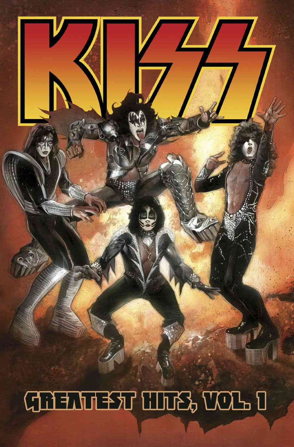 Kiss 1: Greatest Hits (Paperback)