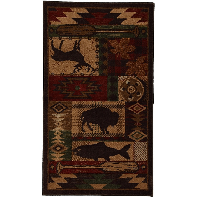 Wyoming Rust Rug (2'1 x 3'8)